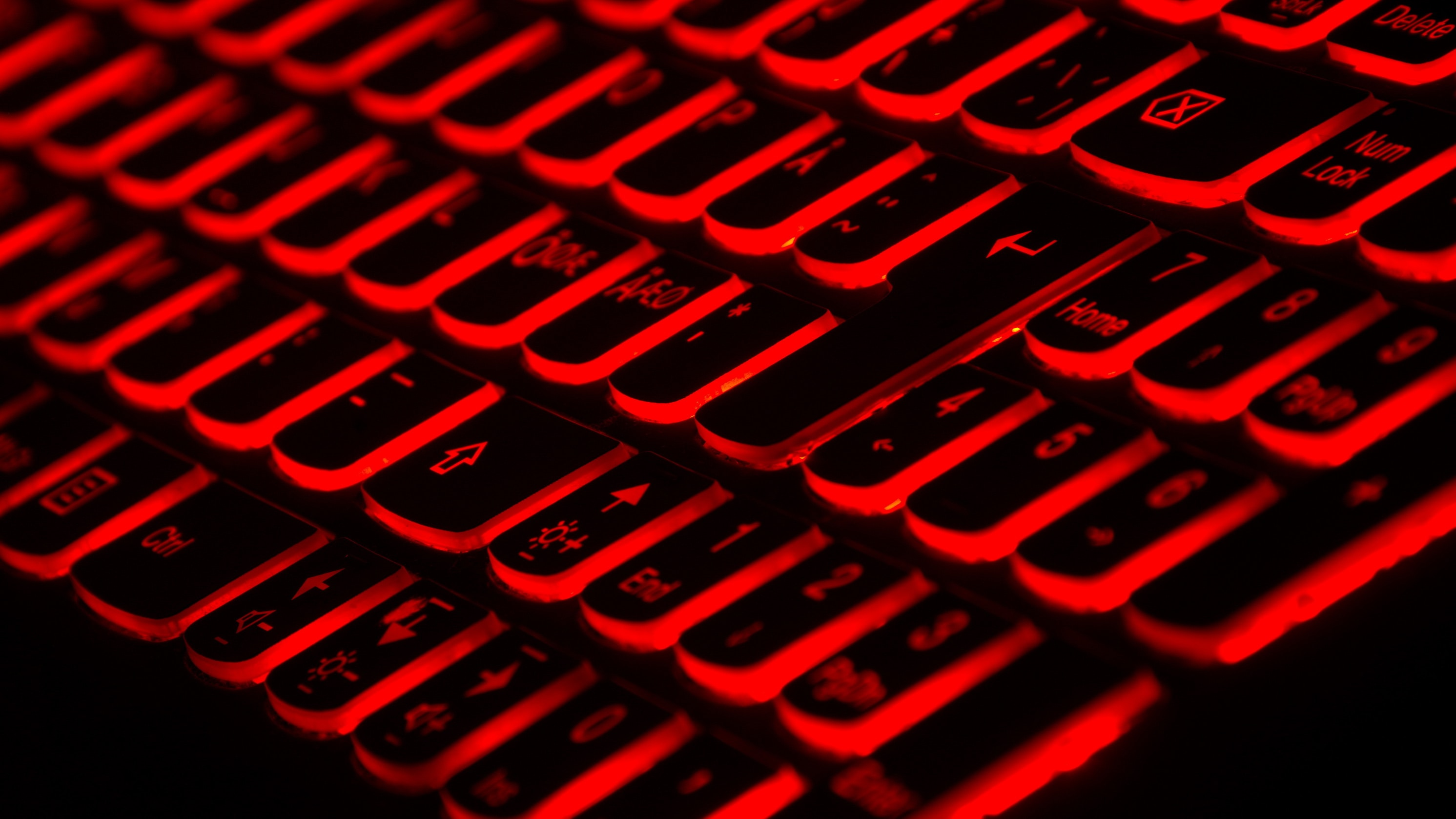 Red keyboard, Photo by Taskin Ashiq on Unsplash